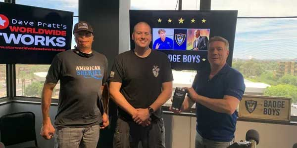 BADGE BOYS PODCAST: EP. 123 OFFICER BRANDON GRIFFITH TALKS ABOUT THE DAY HE DIED AND HOW HIS HEARTFELT NONPROFIT BLUE HEART SAVES LIVES