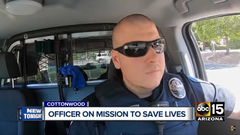 ABC15 OFFICER ON MISSION TO SAVE LIVES JUNE 2019