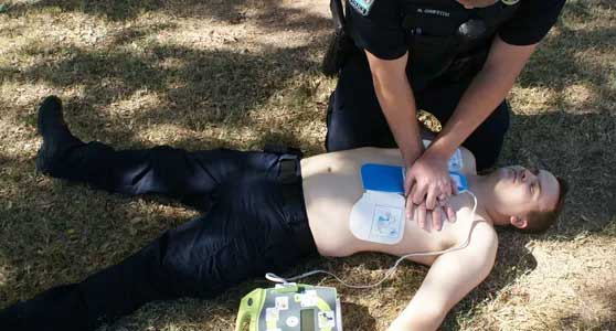 INCREASE CARDIAC ARREST OUTCOMES BY UPDATING POLICE DISPATCH PROTOCOLS