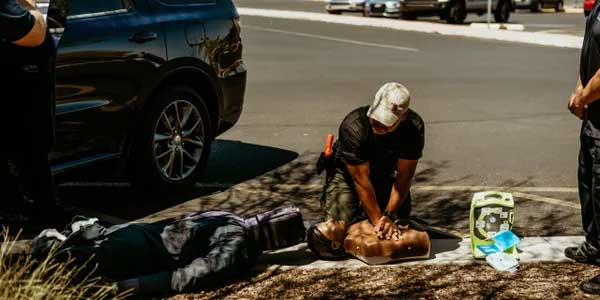 COPS' INCREASING ROLE IN PROVIDING MEDICAL CARE