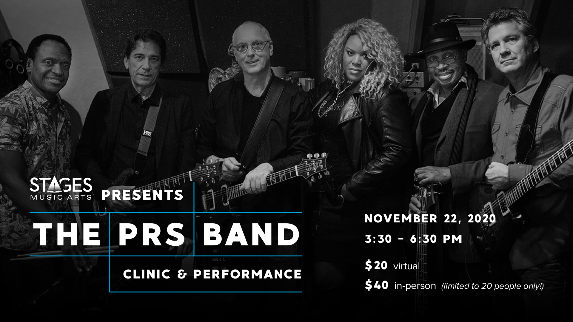PRS Band flyer