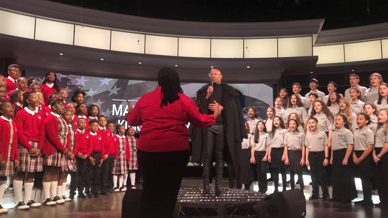 Harrison Fribush two choirs