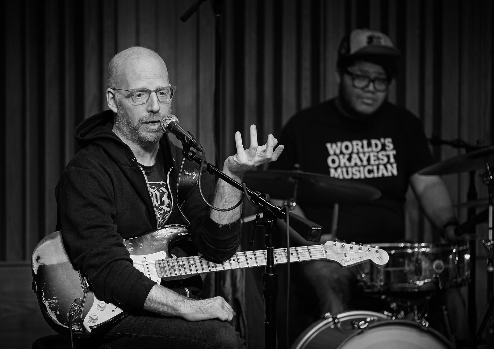 Oz Noy and Jimmy Haslip Master Class