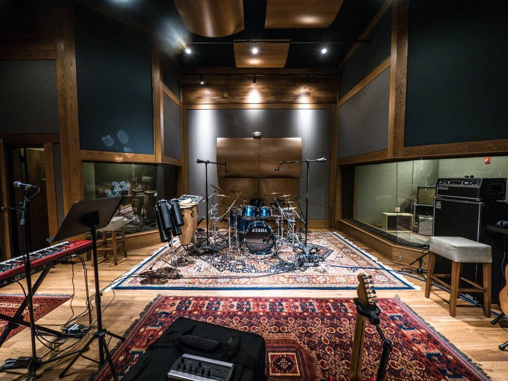 Studio-B recording room