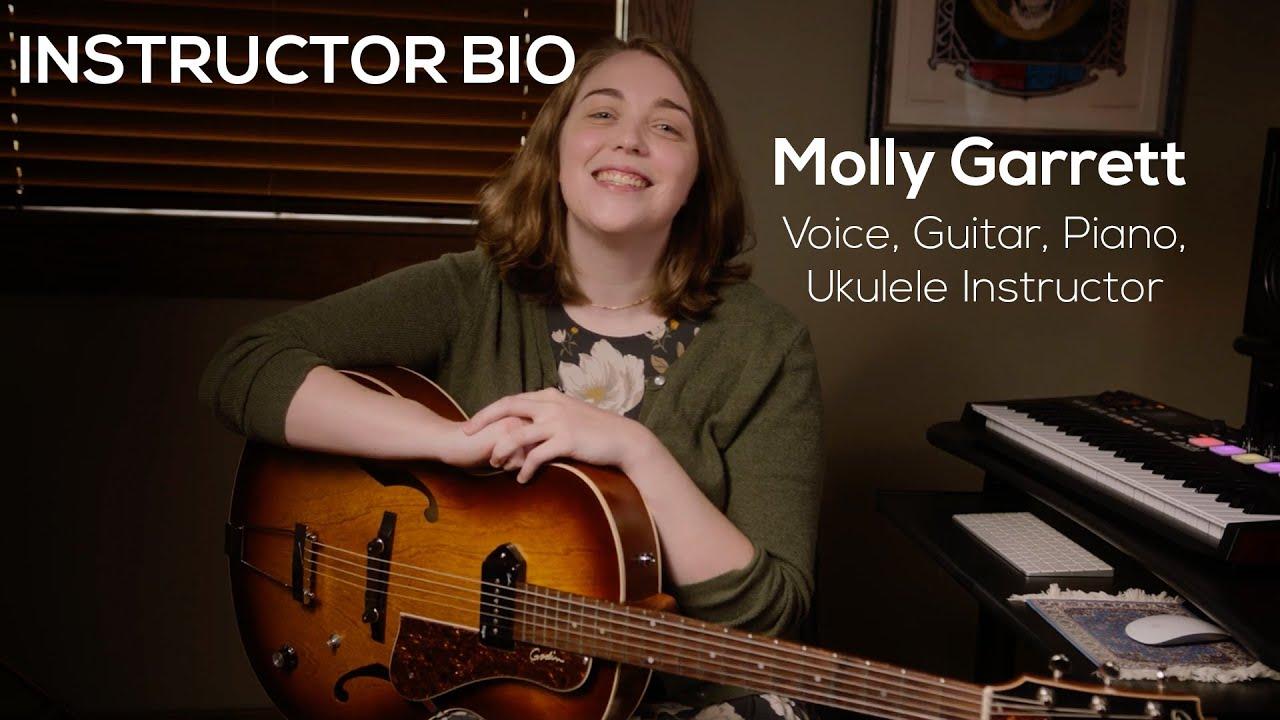 Molly Garrett bio video