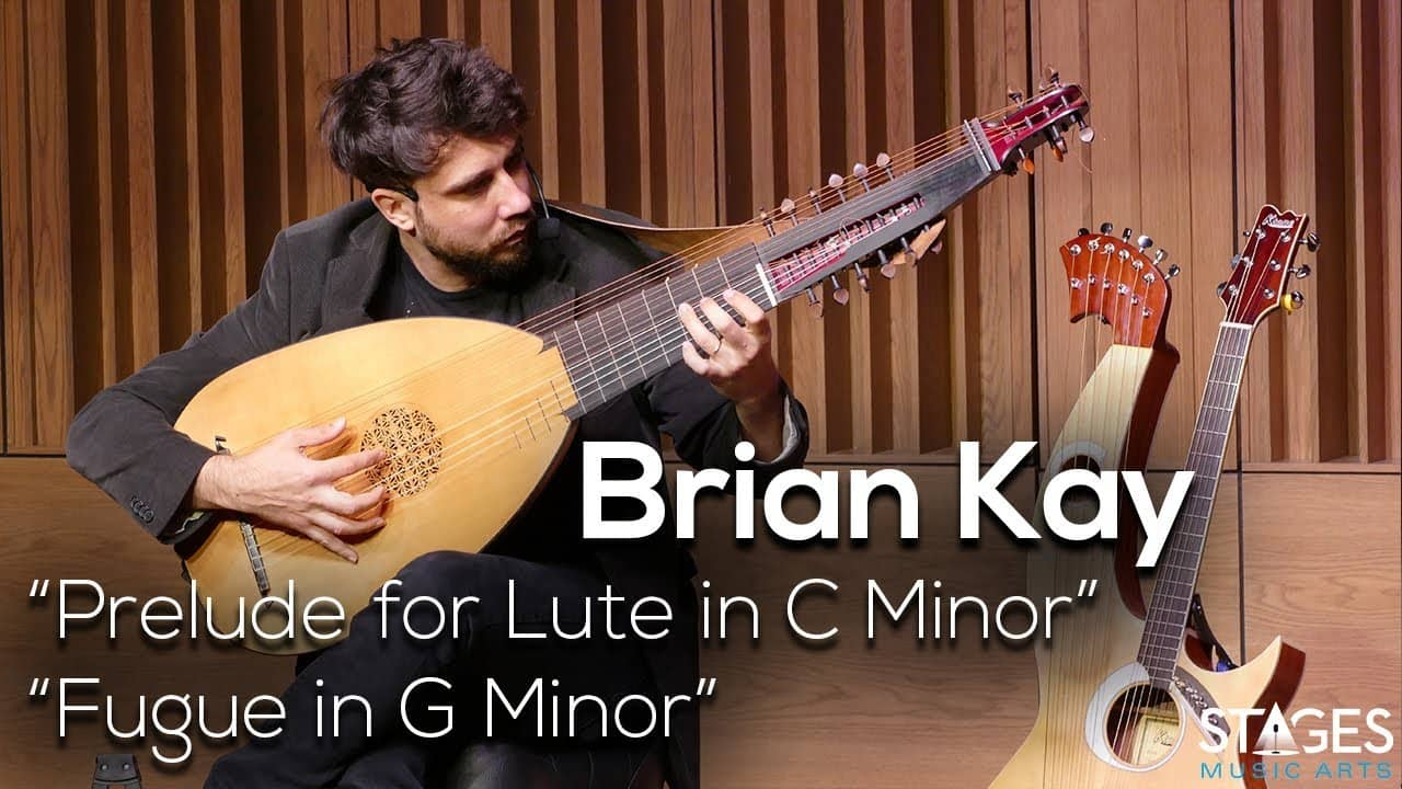 Brian Kay, Prelude for Lute in C Minor