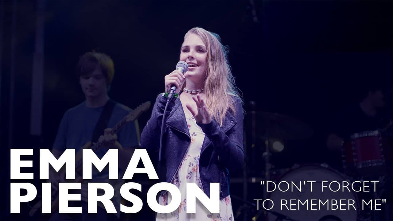 Don't Forget to Remember Me - Emma Pierson