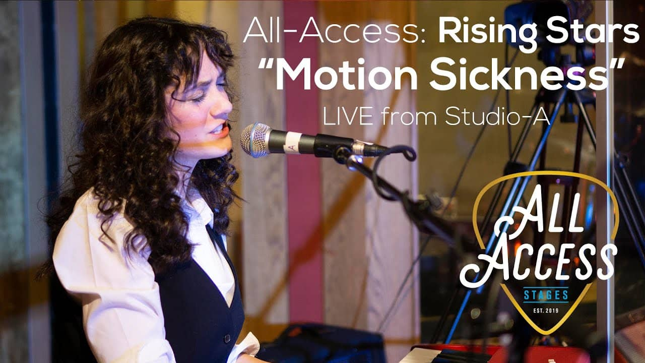 "All-Access Rising Stars ""Motion Sickness"""