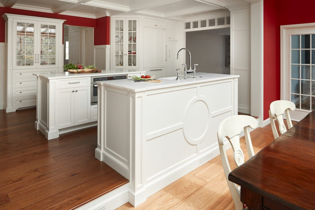 Open Kitchen Plan by Creative Contracting