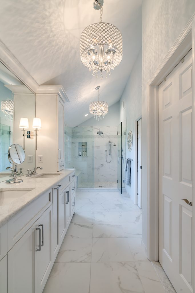 Master Bath Renovation - Counters Sinks - Luxury Finishes