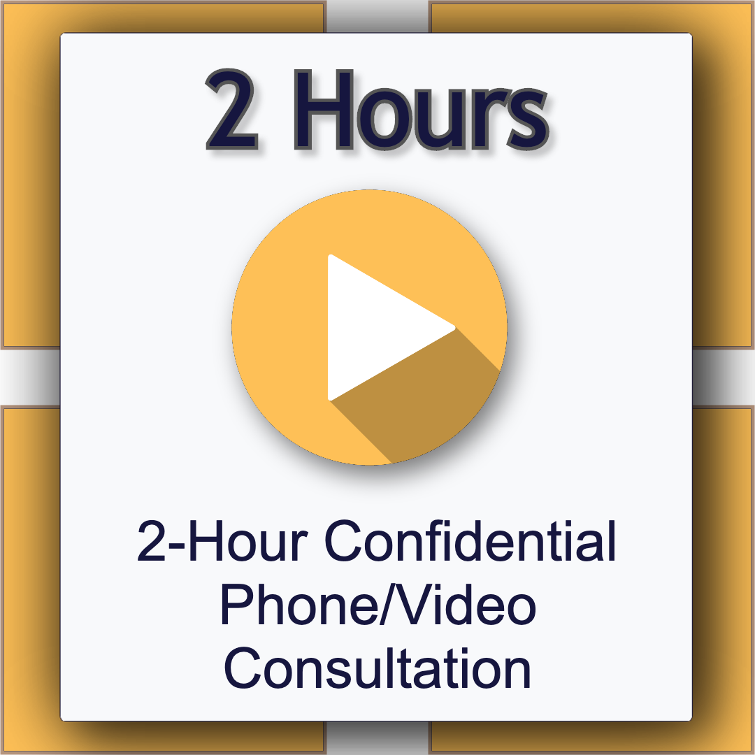 2-Hour Legal Confidential Phone/Video Consultation