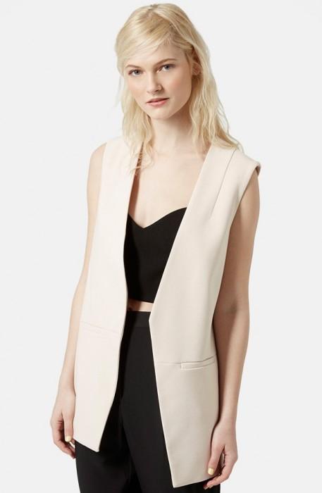 Top Shop Molly Longline Vest