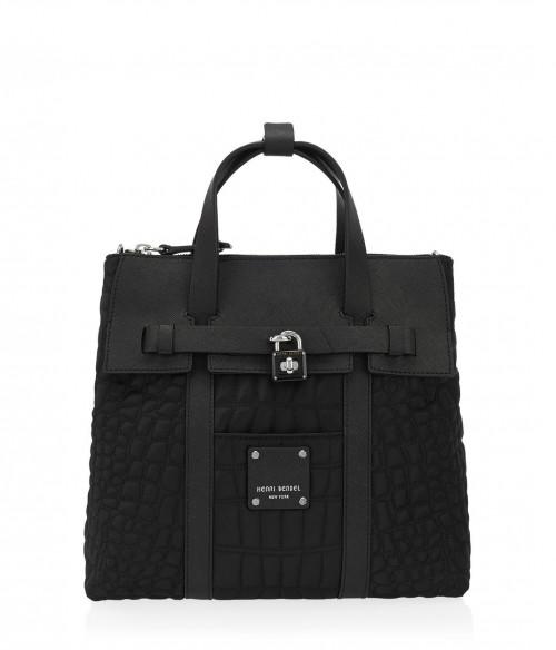 Henri Bendel Jetsetter Mini Quilted Convertible Backpack