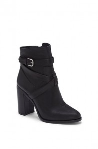 Vince Camuto Gravell Criss-Cross Heeled Bootie