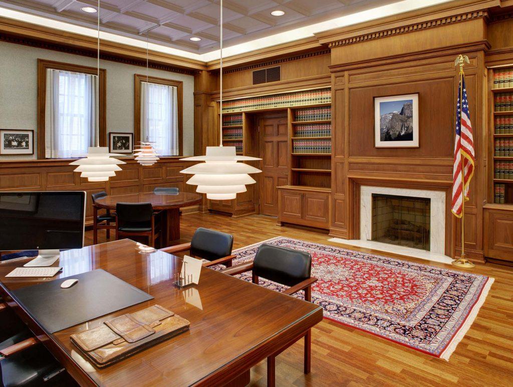 federal building custom woodwork