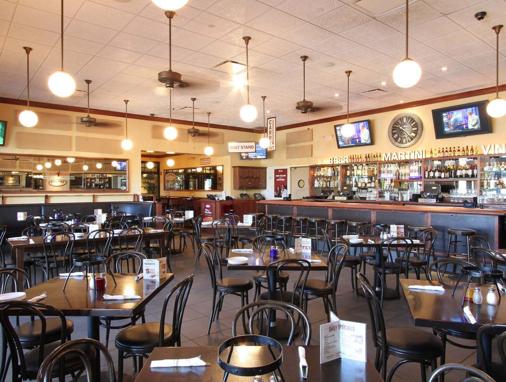 north shore cinema cafe area