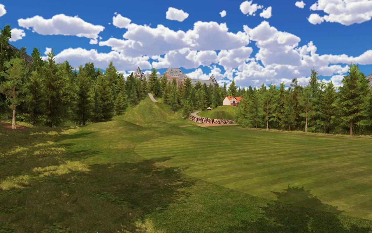 golf course banff