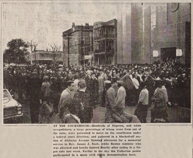 Selma Times, March 16, 1965 Photo Cover Pg copy