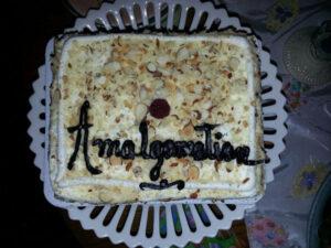 Book Babes Amalgamation Cake