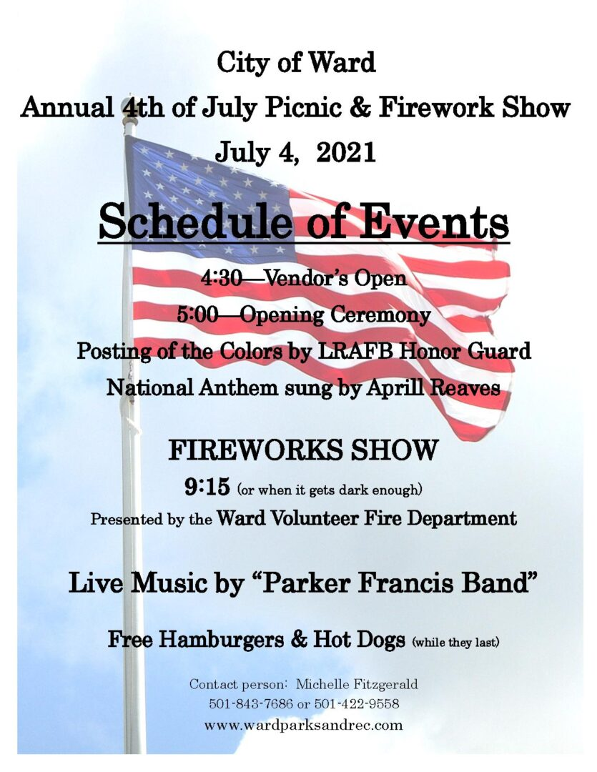 2021 4th of July Flyer