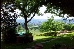 Perugia in the distance – an observation point