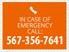 In Case of Emergency Call: 567-356-7641
