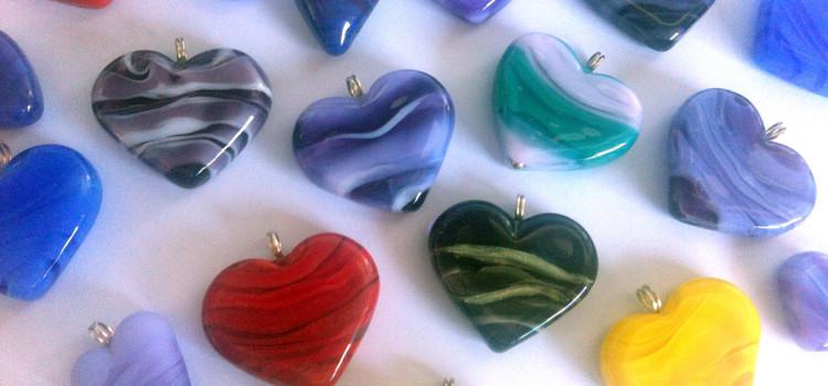 hearts of glass by Jenefer Ham