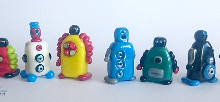 glass robots by Jenefer Ham Glass