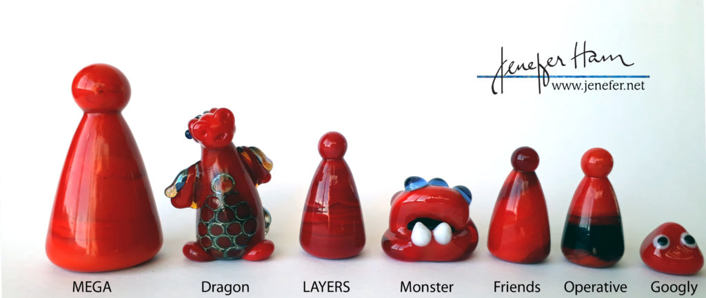 marker sizes by Jenefer Ham
