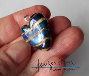 iridescent heart by Jenefer Ham