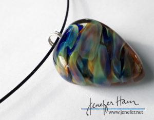rainbow heart by Jenefer Ham