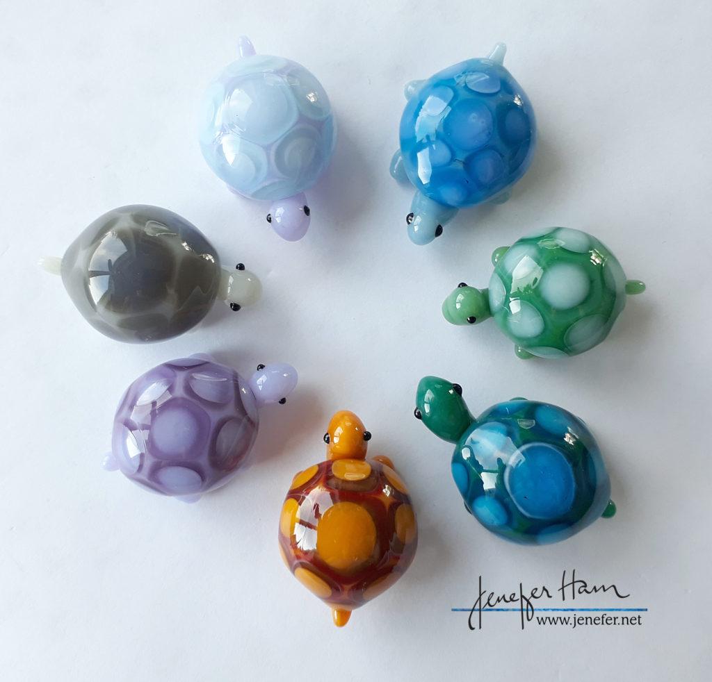 turtles by Jenefer Ham