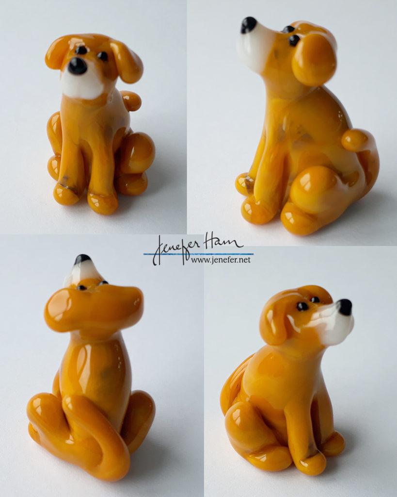 smoke smudge doggy by Jenefer Ham