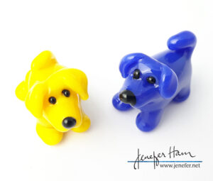Hoo Doggies by Jenefer Ham Glass