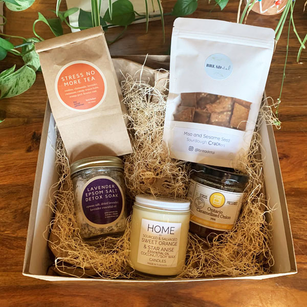 spa day, mother's day gift box