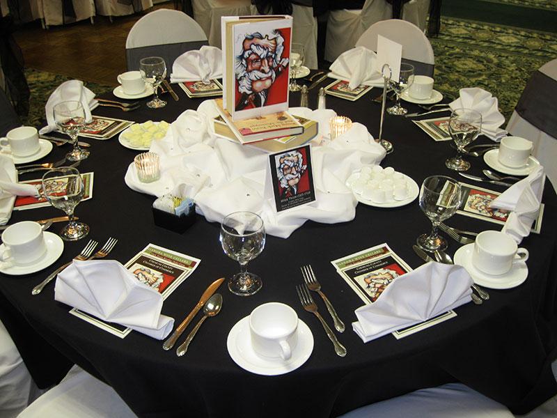 Mark Twain Dinner Holiday Inn Elmira, NY