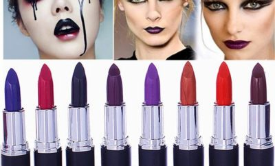 All shades of lipstick