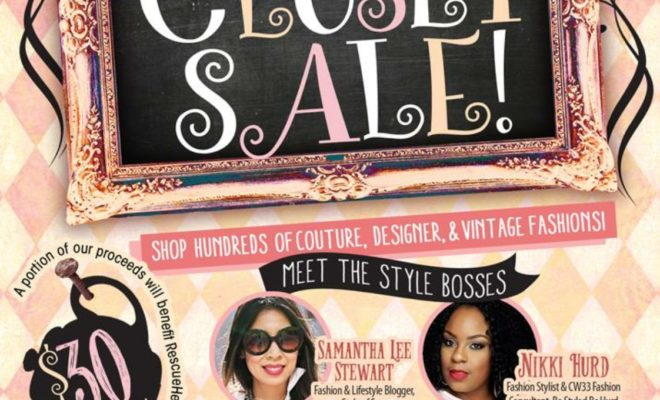 Dallas Closet Sale from Conscious Couture
