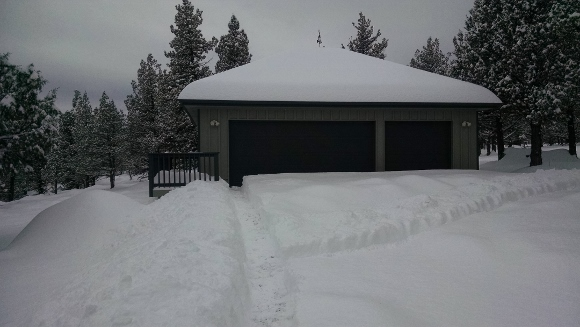 Winter in Sisters, Oregon