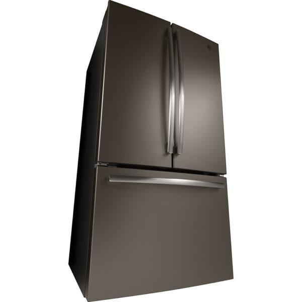 GE 25.5 Cu.Ft, French Door Refrigerator Slate- GFE26JMMES