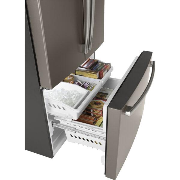 GE 26.7 Cu. Ft, French Door Refrigerator Slate - GNE27JMMES