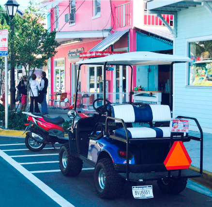 4 Passenger Golf Cart ⛽️