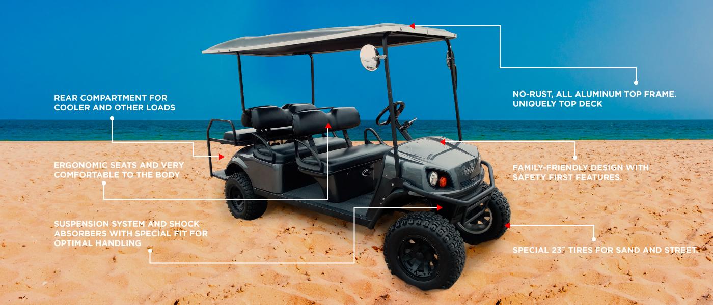 8 Passenger Golf Cart ⛽️