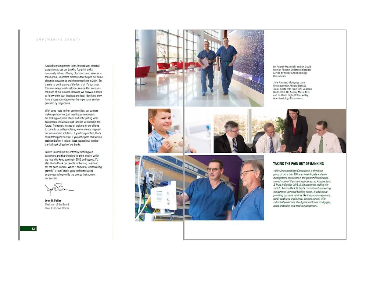 Heartland Financial Annual Report 2015
