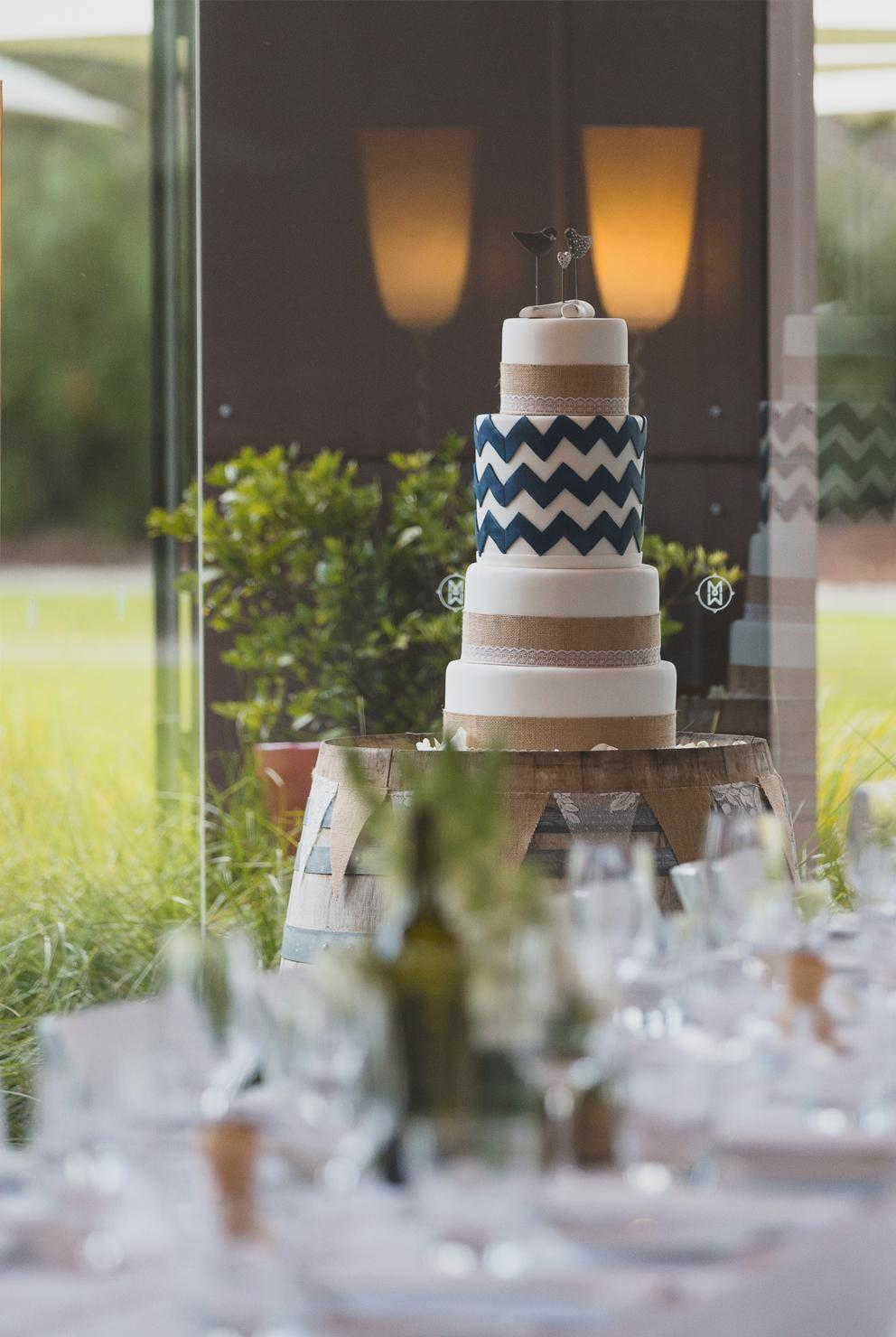 Yarra Valley Restaurants-Divino Ristorante-Wedding cake