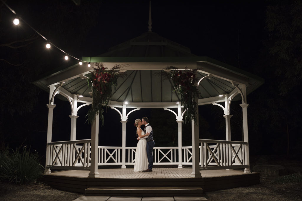 Yarra Valley Wedding Venue DiVino gazebo