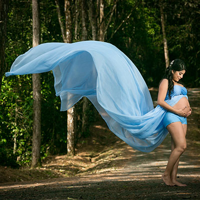 Sesión de Fotos de Maternidad en Exteriores en Panamá