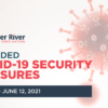 Amended COVID-19 Security Measures | May 30 – 11:59pm June 12, 2021