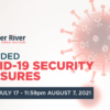 Amended COVID-19 Security Measures | 6:00am July 17 – 11:59pm August 7, 2021