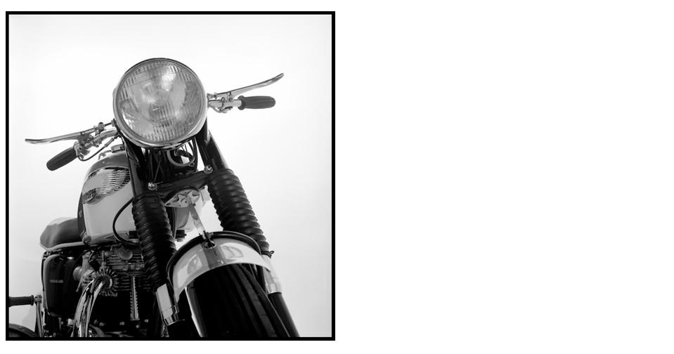 howard grey triumph motorcycle photos